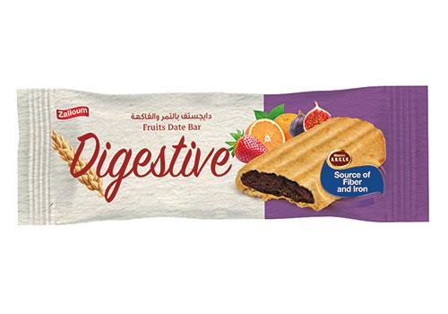 Digestive Date Bar with Fruits