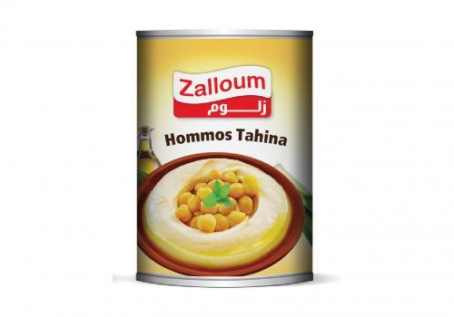 حمص بالطحينة