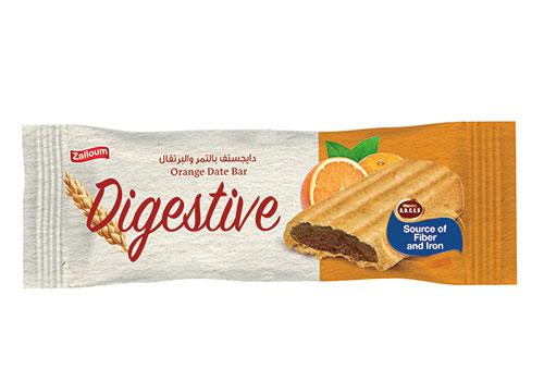 Digestive Date Bar with Orange
