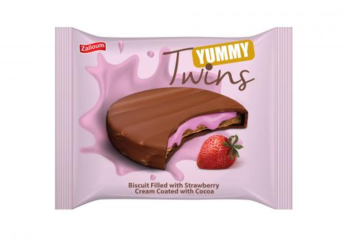Yummy Twins with Strawberry Cream