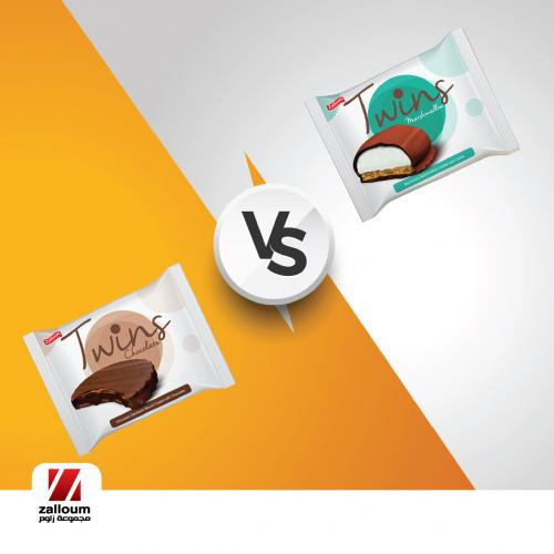 Twins marshmallow or Twins chocolate, what would you go for today?