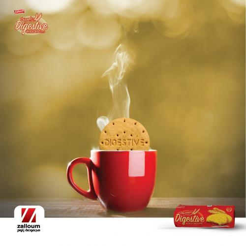 Start your day with Digestive biscuits from Zalloum